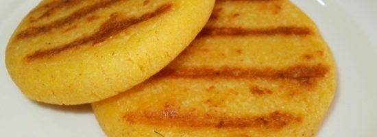 Arepa de Maiz Pilado