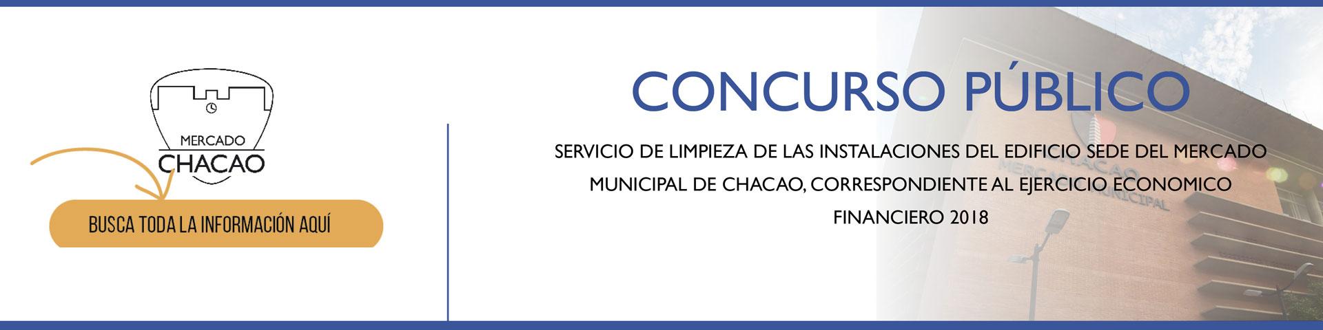 CONCURSO ABIERTO: IAMMCH-CCP-CA- 2018 -003