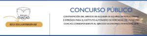 CONCURSO ABIERTO: IAMMCH-CCP-CC-2018-002