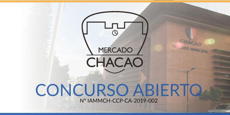 Concurso Abierto N° IAMMCH-CCP-CA-2019-002