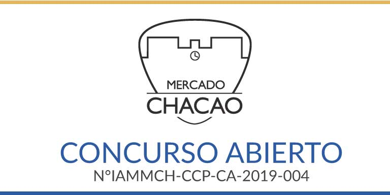 CONCURSO ABIERTO N°IAMMCH-CCP-CA-2019-004